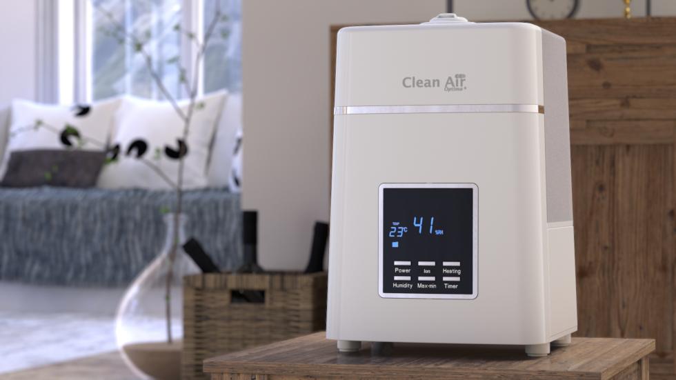 Ultraschall Luftbefeuchter mit Ionisator CA-604W.