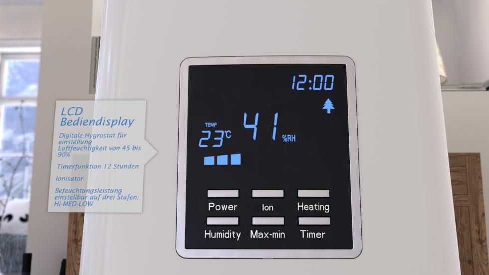 Luftfeuchtigkeit, Luftqualität und Luftbewegung CA-604