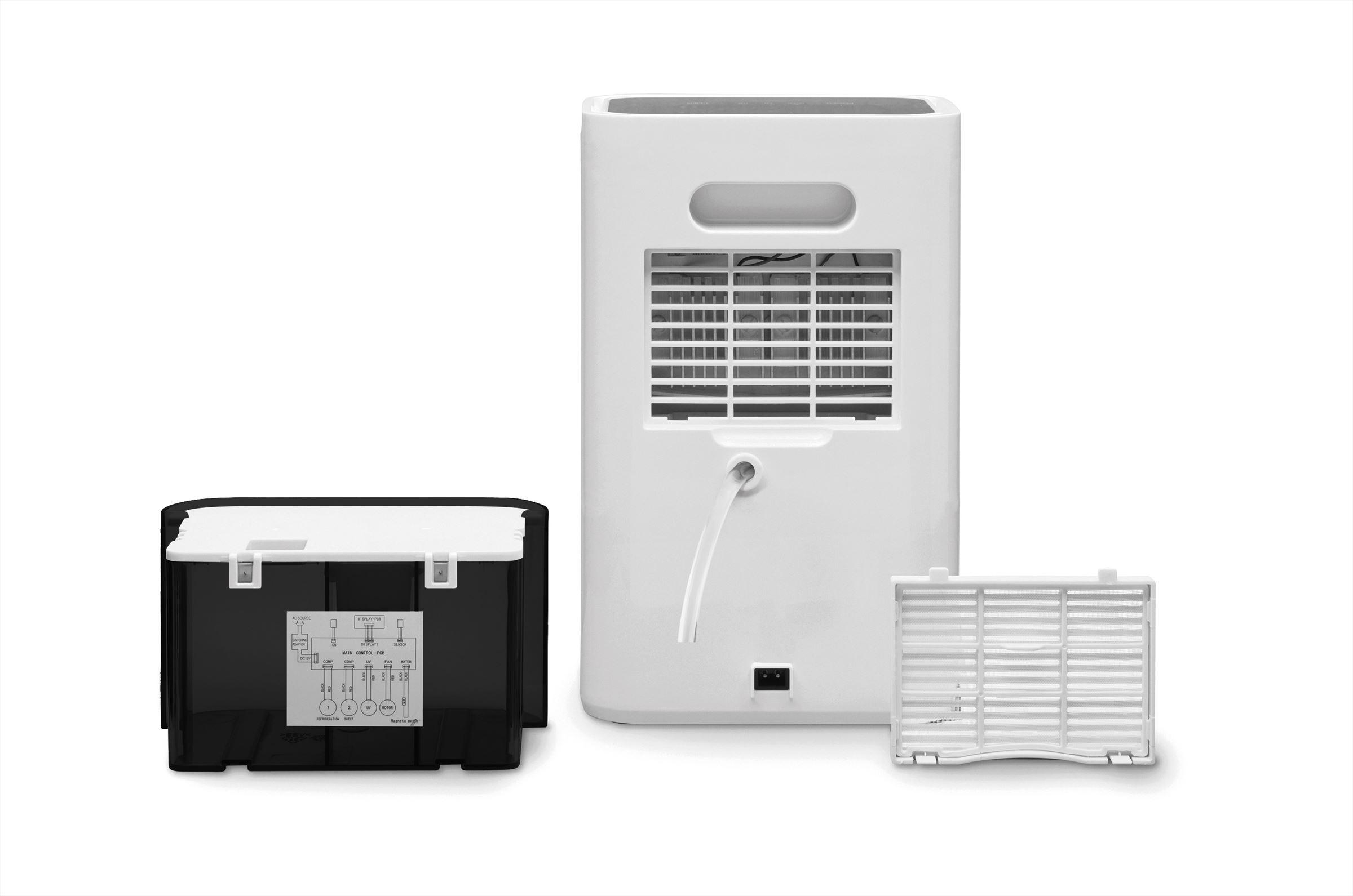Luftentfeuchter mit Ionisator CA-19